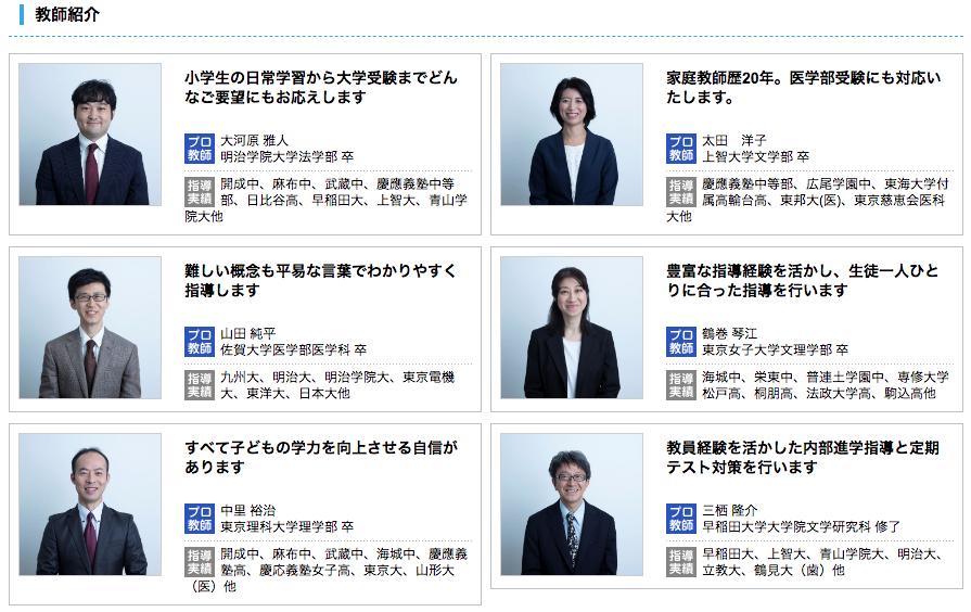 家庭教師のポータルサイト・口コミサイト
