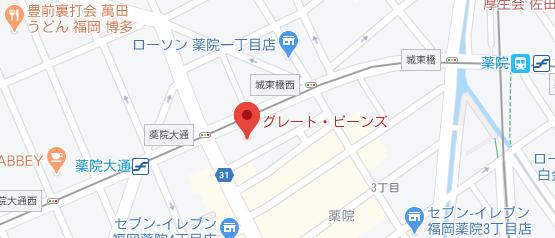 引越し業者のホームページに掲載するGoogle Mapsの例